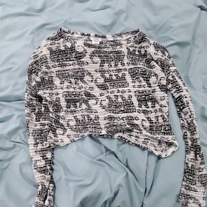 Tobi crop sweater size medium